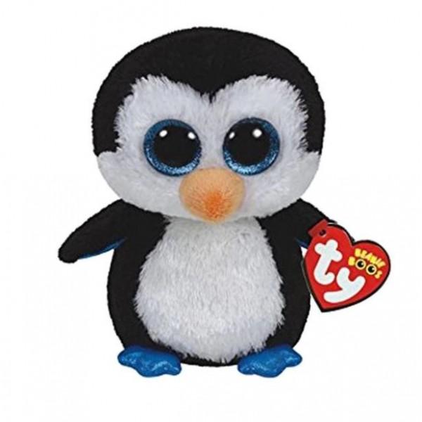 Peluche Pingüino 15CM - Ojos Grandes