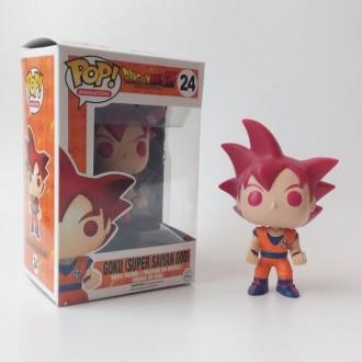 Funko POP Goku Super Saiyan God Rojo