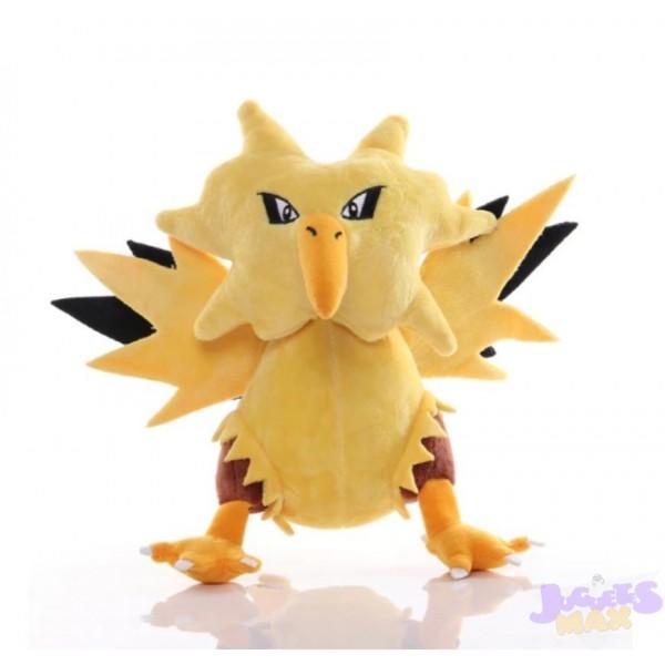 Peluche de Zapdos Pokemon Electrico...
