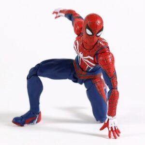 spiderman articulado juguete de accion